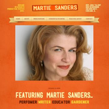 Martie Sanders, Actor Site
