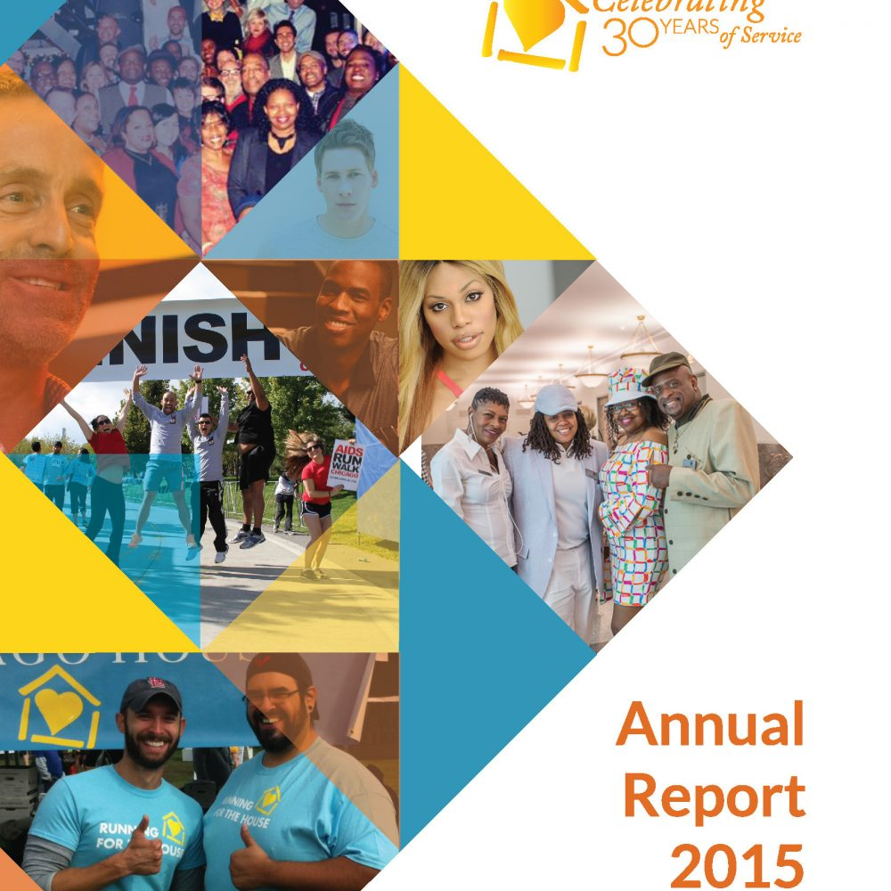 Chicago House 2015 Annual Report